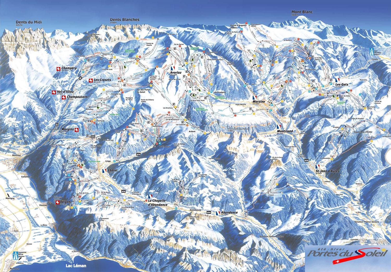 Domaine skiable avoriaz station et pistes de ski avoriaz - Domaine skiable les portes du soleil ...