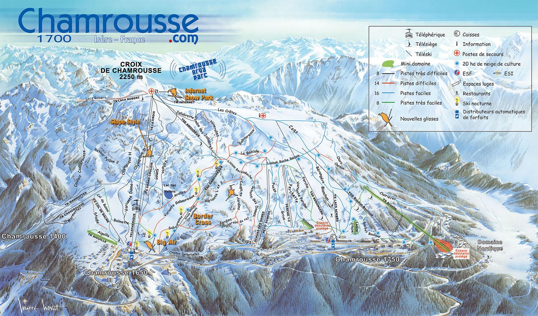 location ski a chamrousse