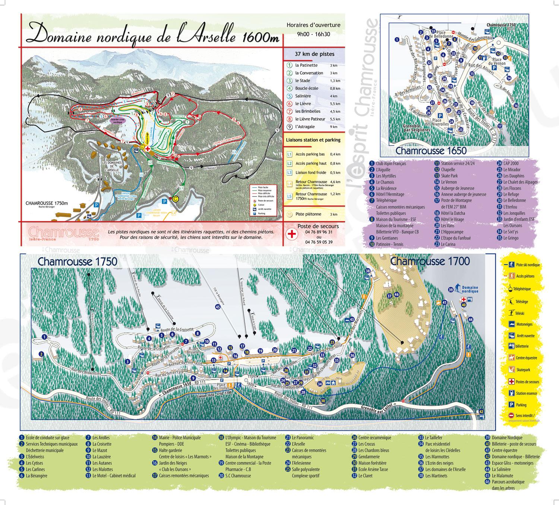 Plan d'accès Chamrousse