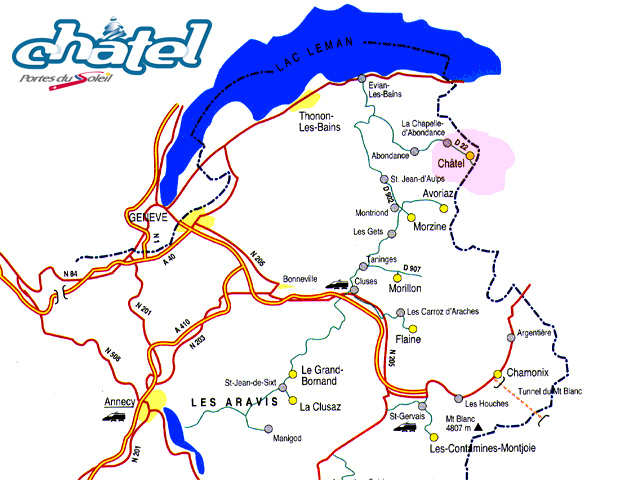 Residence le grand lodge chatel location vacances ski chatel ski planet - Office de tourisme chatel 74 ...