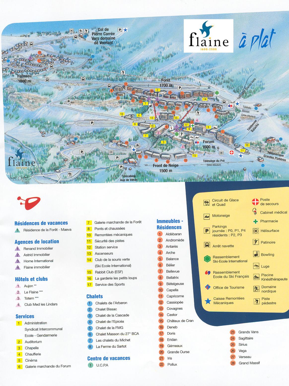 Résidence les Pléiades***, Flaine, location vacances ski Flaine ...