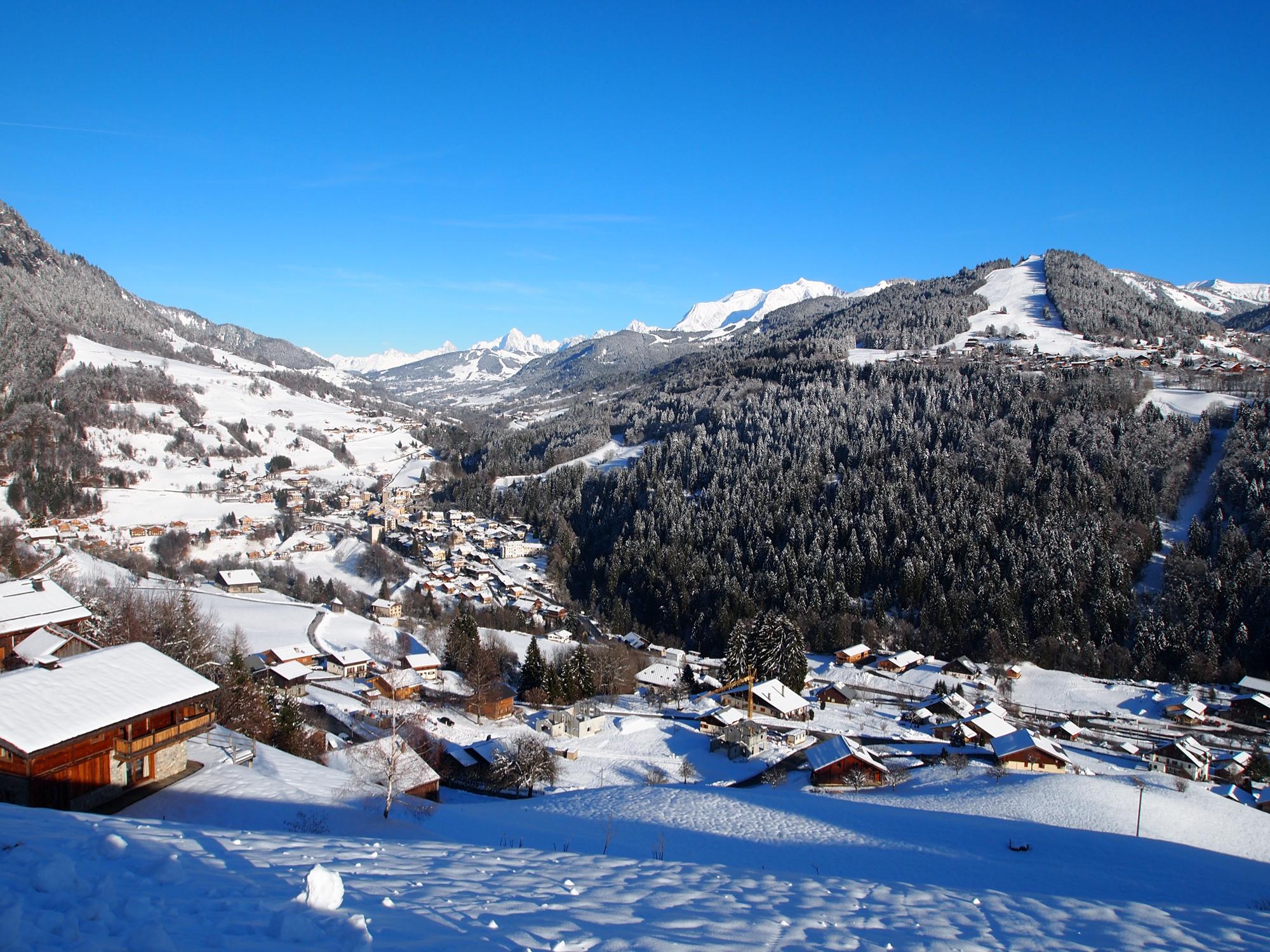 Domaine skiable flumet station et pistes de ski flumet ski planet - Office de tourisme flumet ...