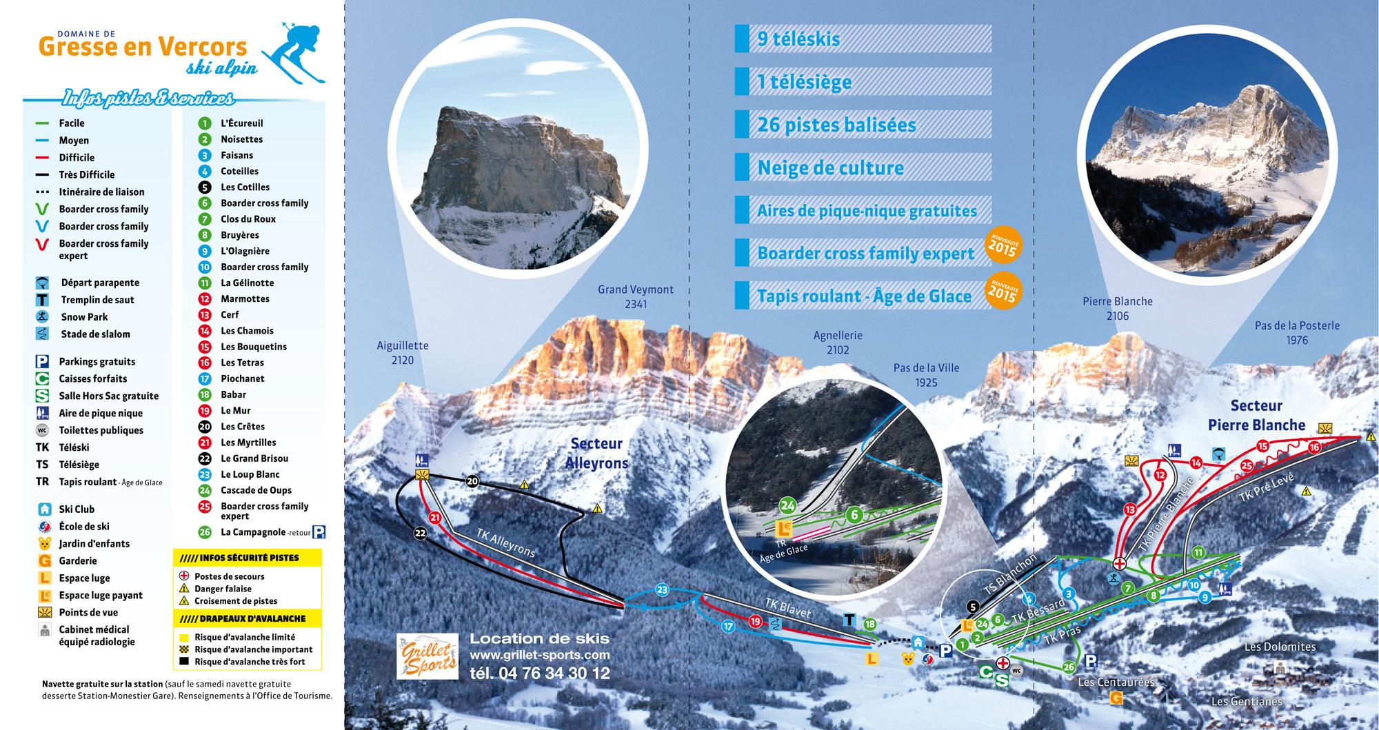 Location gresse en vercors 3397 locations la neige - Office du tourisme gresse en vercors ...