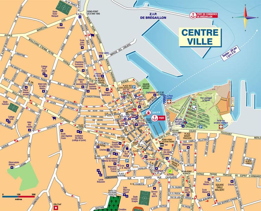 Plan d'accès La Seyne-sur-Mer