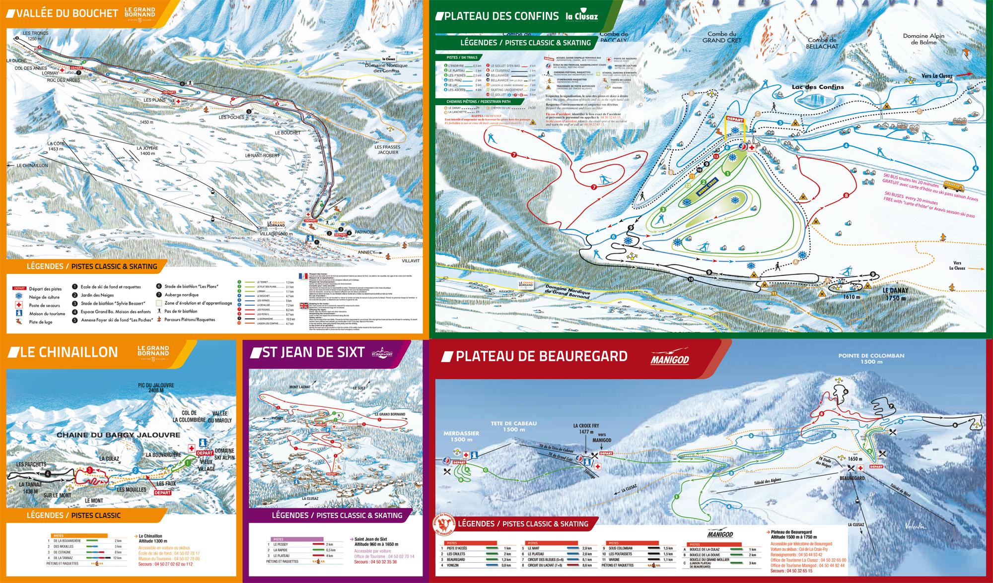 Domaine skiable le grand bornand station et pistes de ski - Office du tourisme le grand bornand village ...