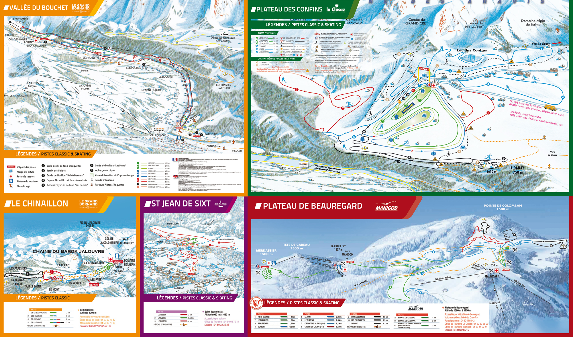 Domaine skiable le grand bornand station et pistes de ski - Office du tourisme grand bornand chinaillon ...