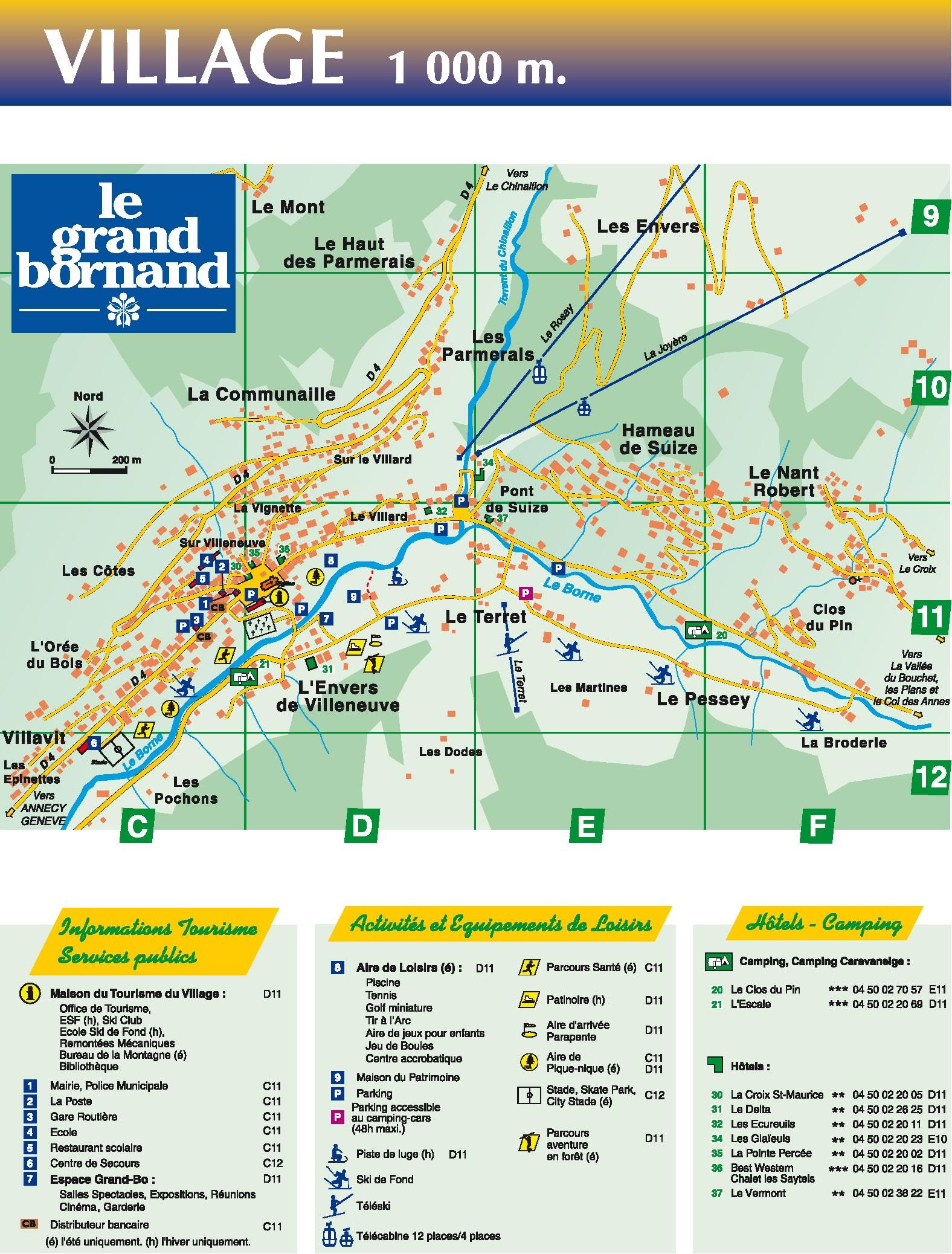 Location haute savoie vos vacances au ski avec ski planet - Office du tourisme le grand bornand village ...