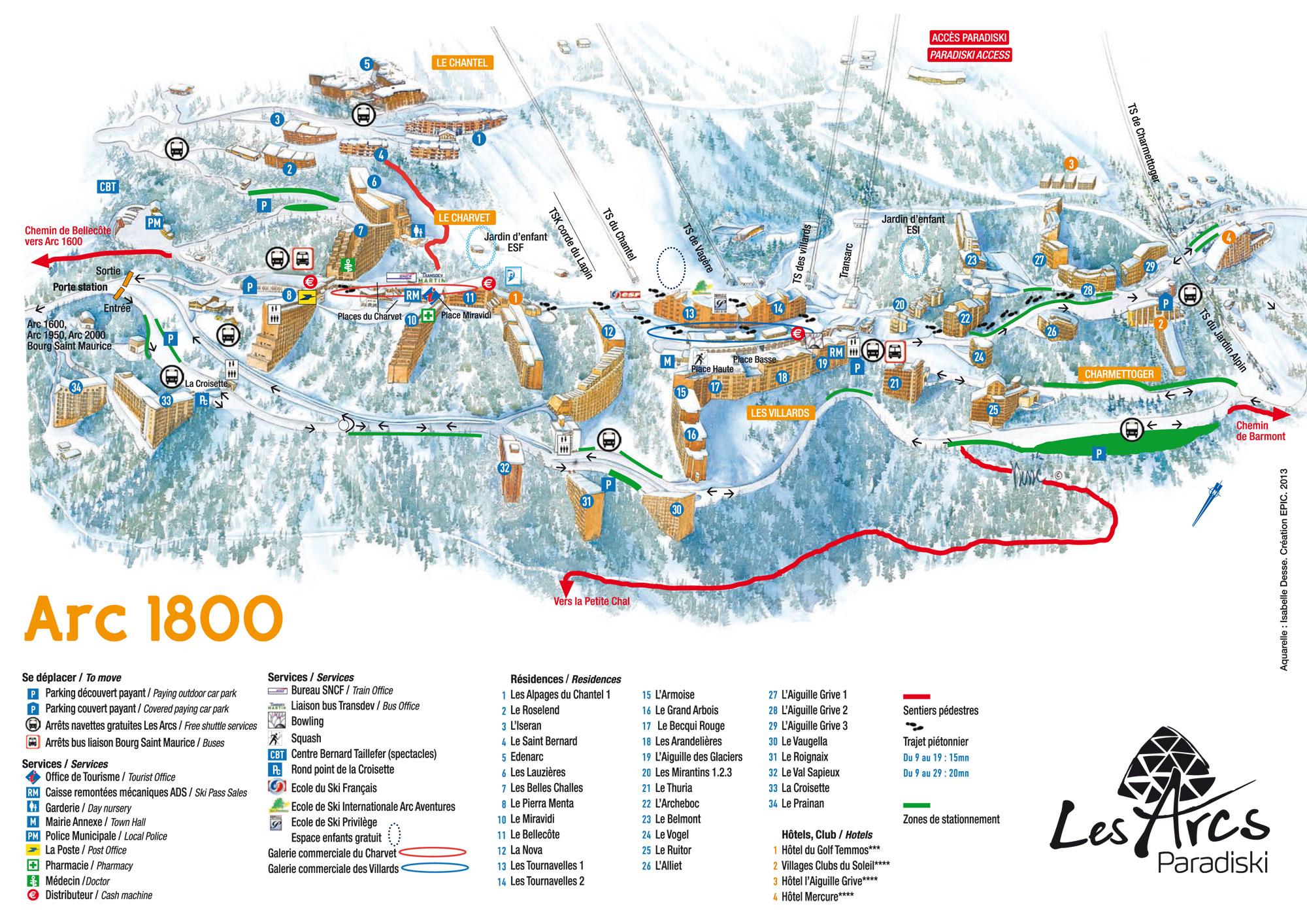 Residence Edenarc Les Arcs location vacances ski Les Arcs SkiPlanet