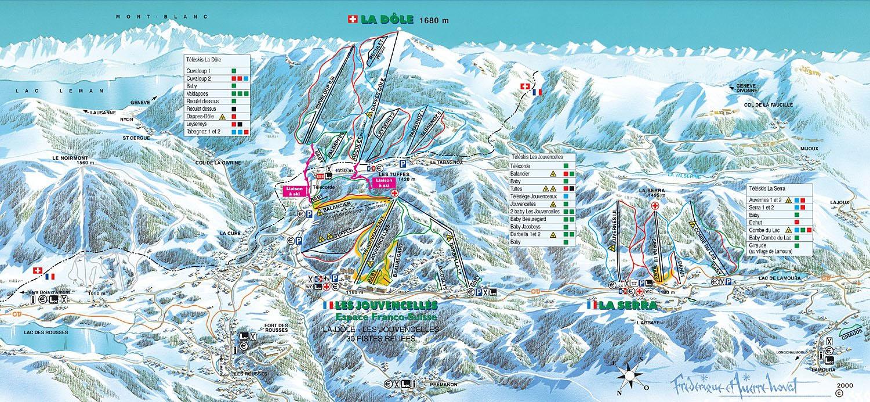location ski jura les rousses