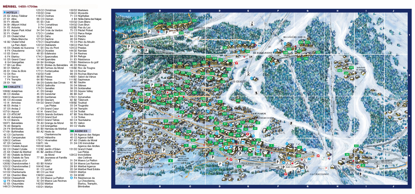 Plan De La Ville De Sorbiers