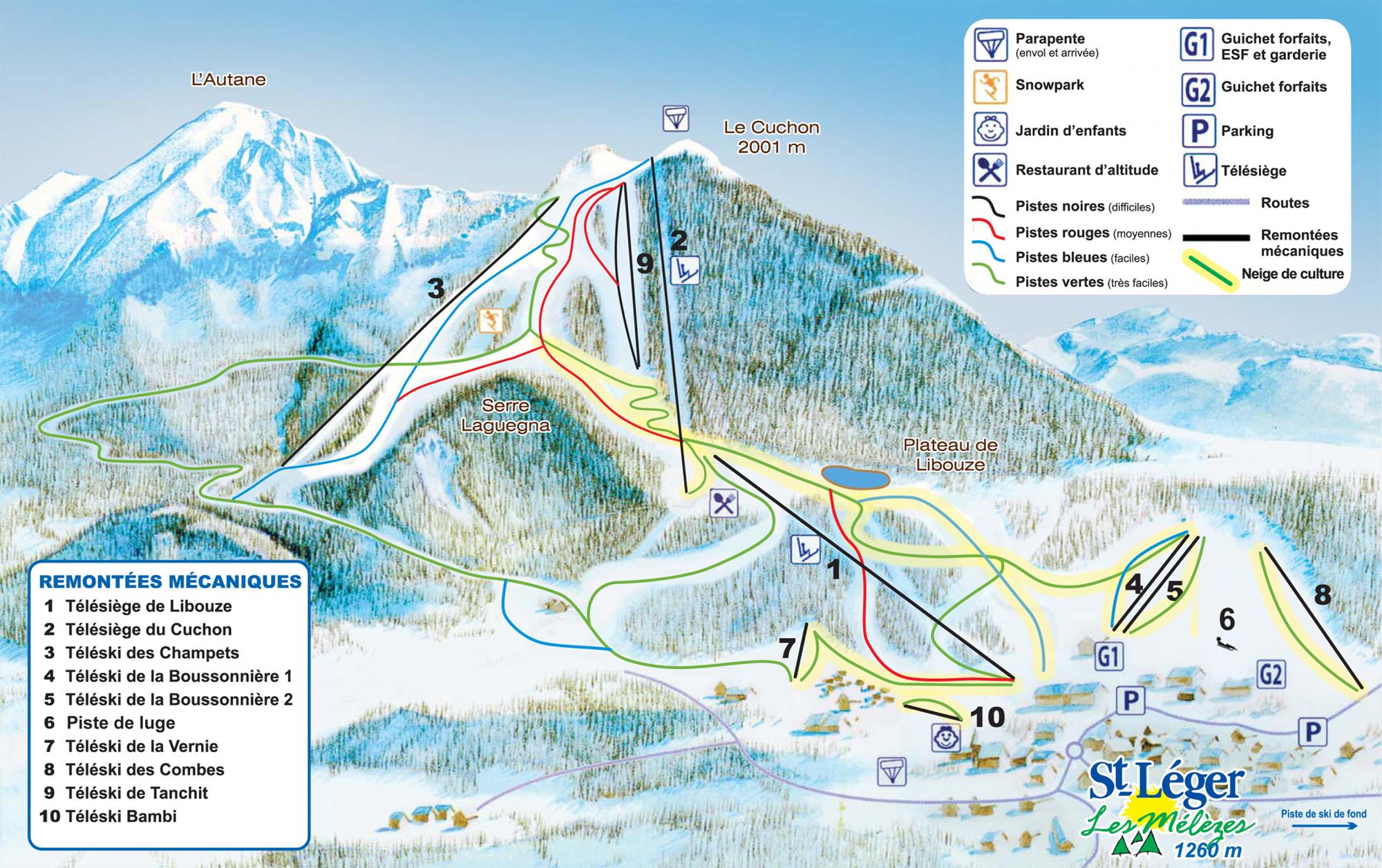 Location saint l ger les m l zes 346 locations la neige - Office du tourisme st leger les melezes ...