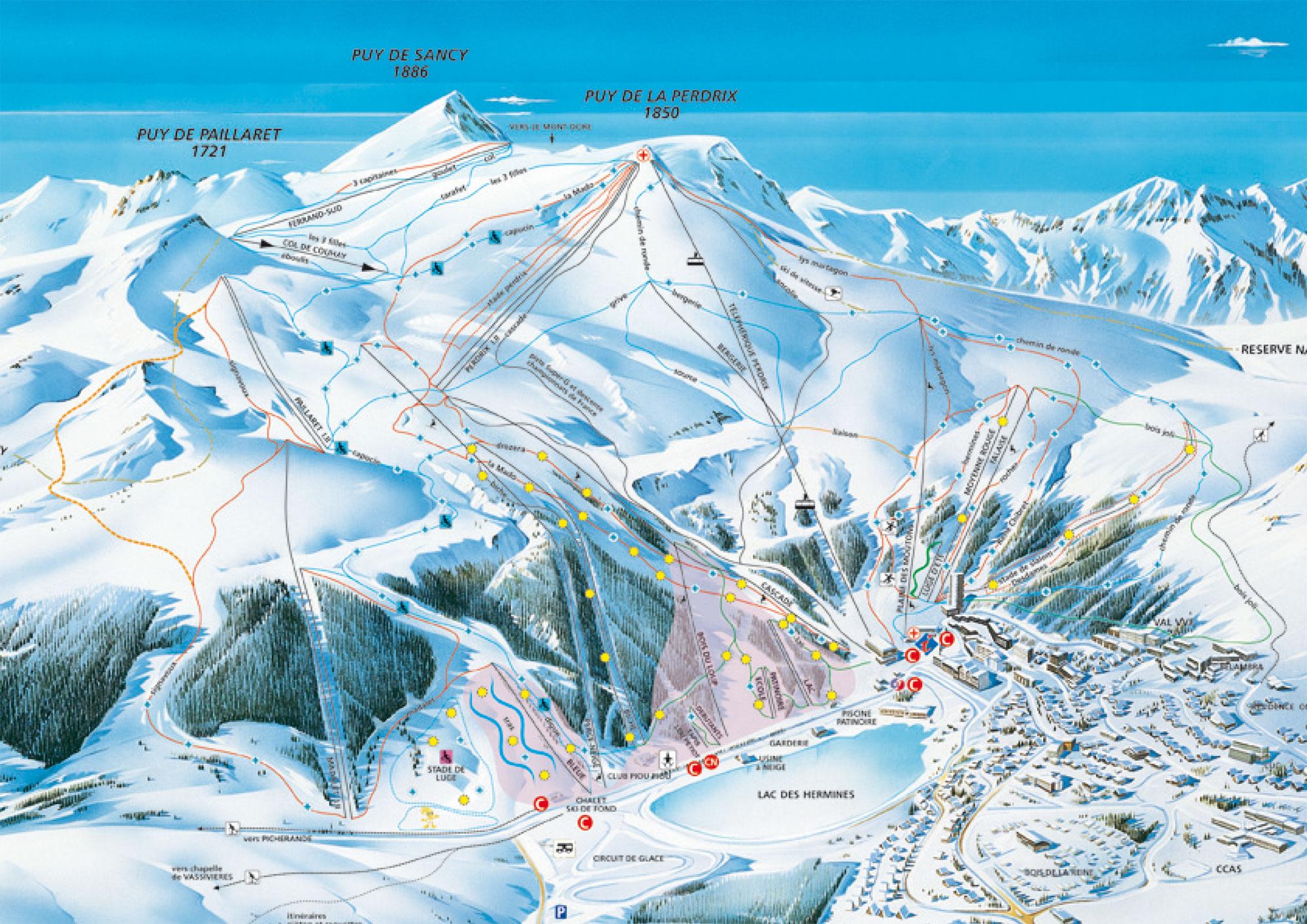 location super besse 4852 locations la neige super besse avec ski planet. Black Bedroom Furniture Sets. Home Design Ideas